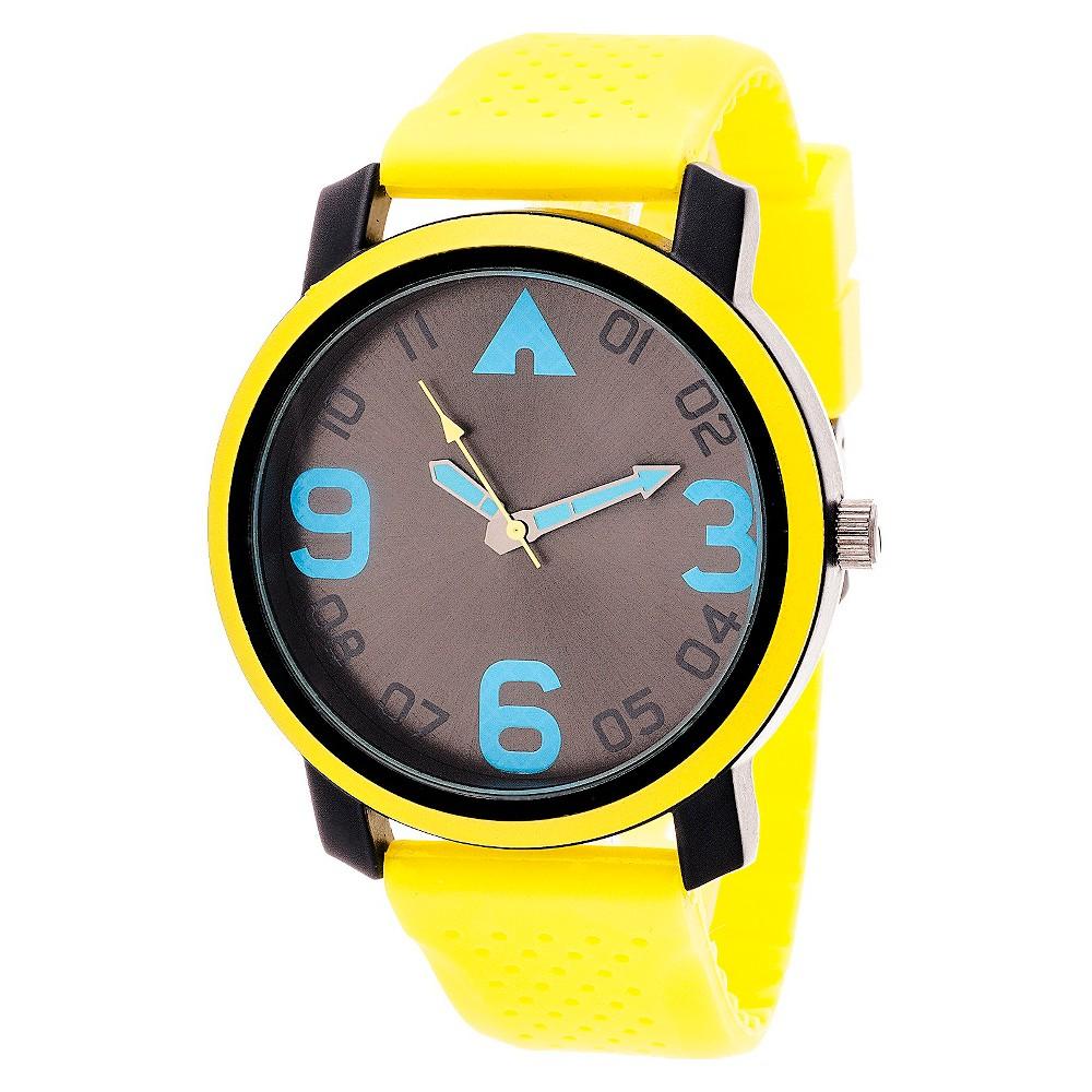 Image of Airwalk Analog Watch - Yellow, Men's