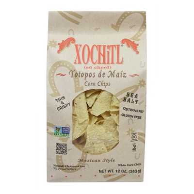 xochitl mexican style tortilla chips 12oz target