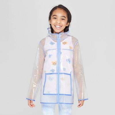 c0127239160e4 Girls Long Sleeve Glitter Rain coat – Cat & Jack™ – Target Inventory ...