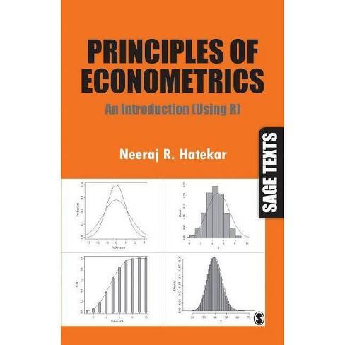 Principles of Econometrics - (Sage Texts) by  Neeraj R Hatekar (Paperback) - image 1 of 1