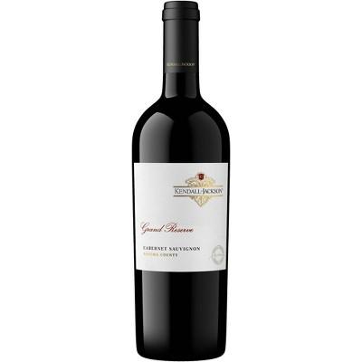 Kendall-Jackson Grand Reserve Cabernet Sauvignon Red Wine - 750ml Bottle