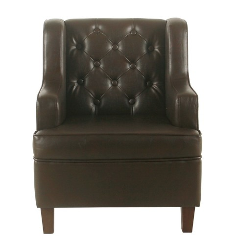 Kids Tufted Wingback Chair - HomePop - image 1 of 4