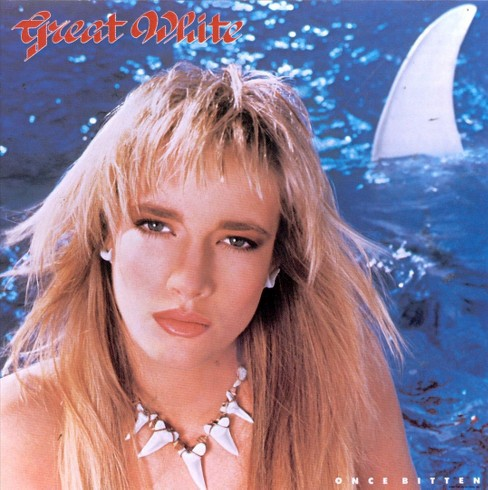 Great white - Once bitten (CD) - image 1 of 1