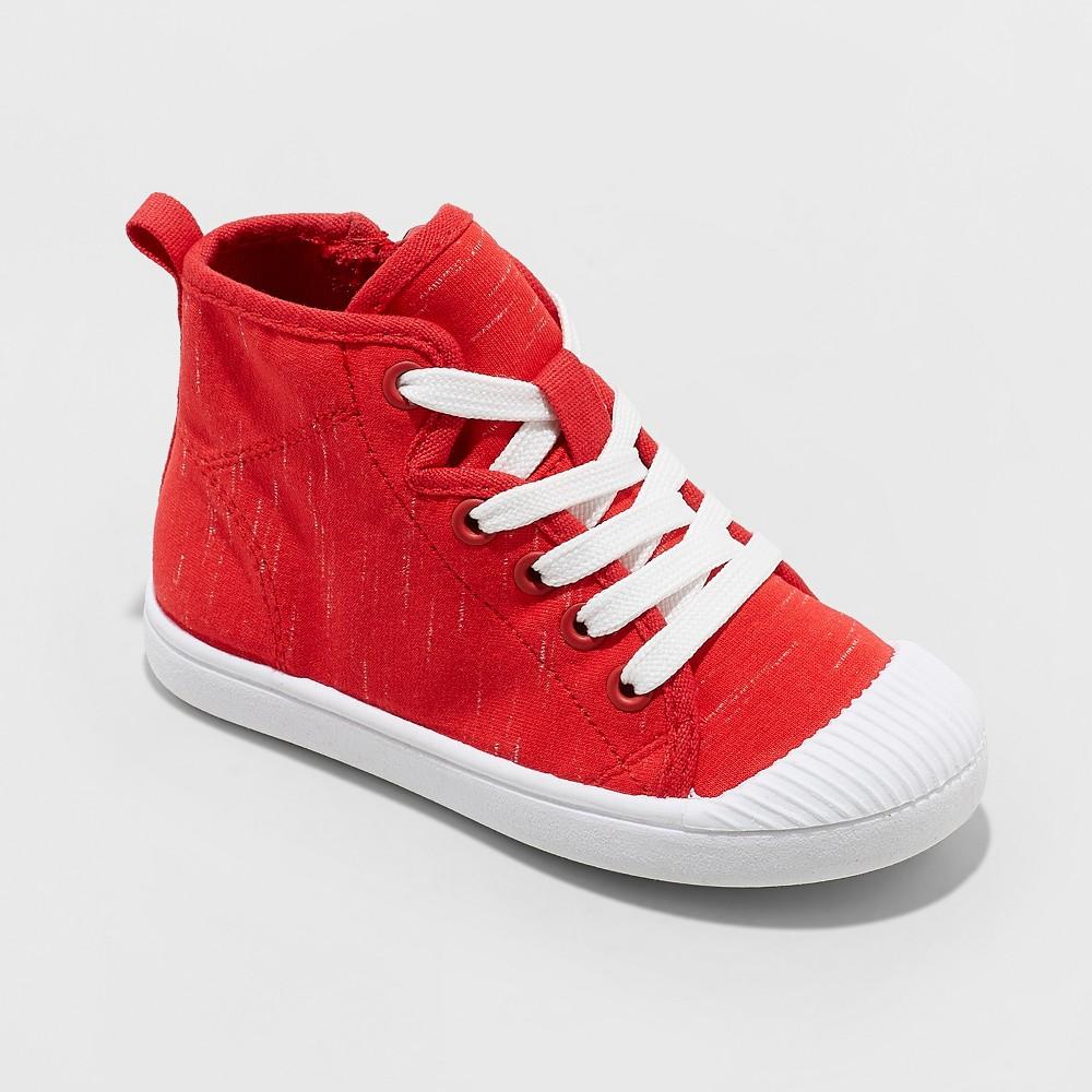 Toddler Boys' Berk Sneakers - Cat & Jack Red 11