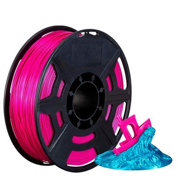 Monoprice Hi-Gloss 3D Printer Filament PLA 1.75mm - 1kg/spool - Violet, Works With All PLA Compatible 3D Printers