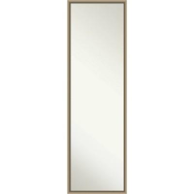 Arrow Framed Full Length on the Door Mirror - Amanti Art