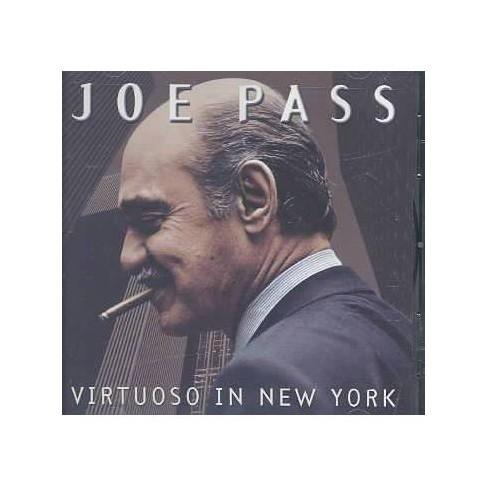 Joe Pass - Virtuoso in New York (CD) - image 1 of 1