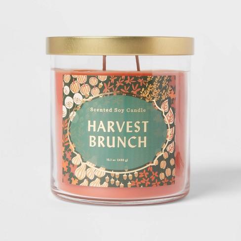 Lidded Glass Jar Harvest Brunch Candle - Opalhouse™ - image 1 of 3