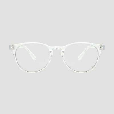 Men's Crystal Clear Blue Light Filtering Square Glasses - Original Use™ Clear