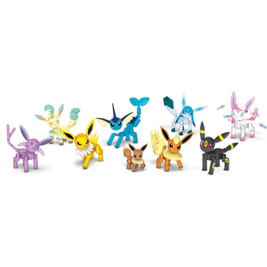 Mega Construx Pokemon Every Eevee Evolution image number null