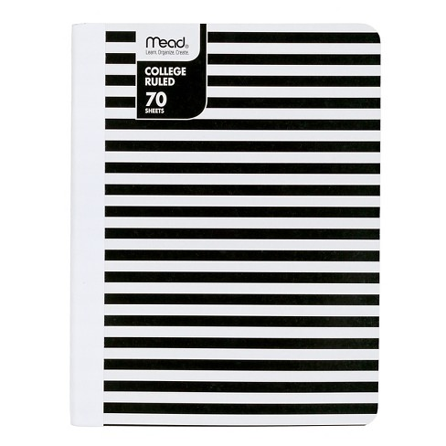 Mead College Ruled 70 Sheets Paper Composition Notebook - image 1 of 1