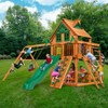 Gorilla Playsets Navigator Treehouse Swing Set with Amber Posts - image 3 of 4
