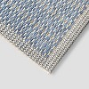 Spectrum Outdoor Rug Blue - Project 62™ - image 2 of 4
