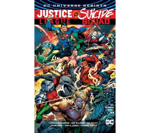 Justice League Vs. Suicide Squad (Hardcover) (Joshua Williamson & Si Spurrier) - image 1 of 1