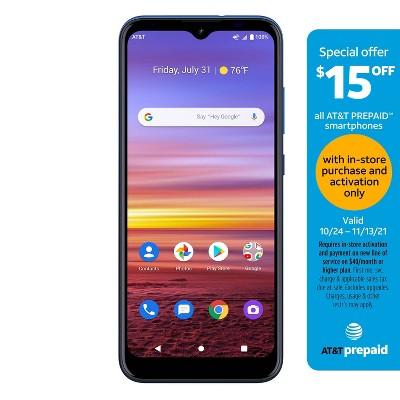 AT&T Prepaid Radiant Max (32GB) - Blue