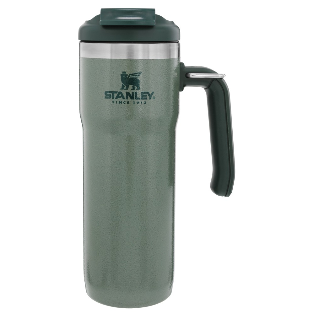 Image of Stanley 20oz Classic Twin-Lock Travel Mug - Green