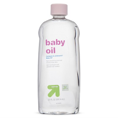 Baby Oil (Compare to Johnson's® Baby Oil)- 20oz - Up&Up™