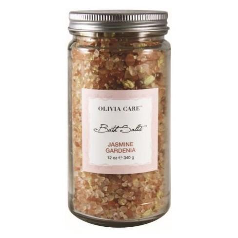 Olivia Care Jasmine Gardenia Bath Salts - 12oz - image 1 of 1