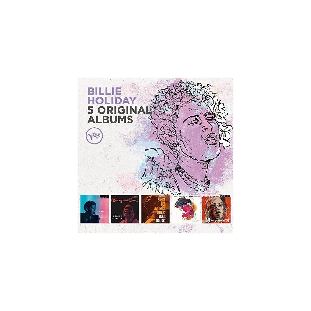 Billie Holiday - 5 Original Albums (CD)