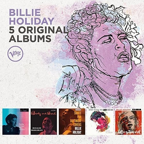Billie Holiday - 5 Original Albums (CD) - image 1 of 1