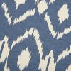 """18""""x18"""" Ikat Square Throw Pillow Cover Blue - Rizzy Home - image 3 of 4"""