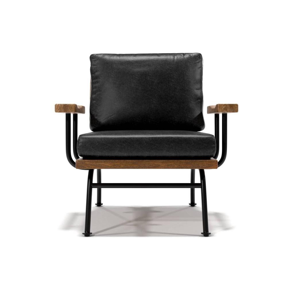 Mehdi Accent Chair Gray - Sun & Pine