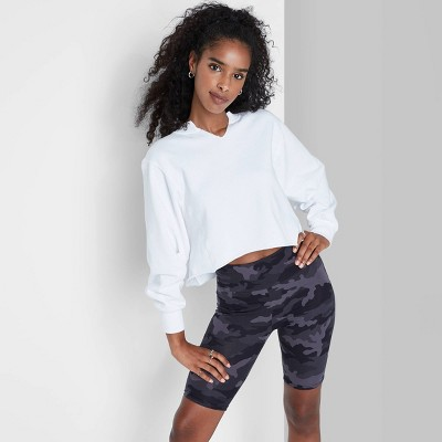 Women's High-Rise Bike Shorts - Wild Fable™