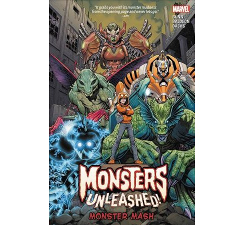 Monsters Unleashed 1 : Monster Mash (Paperback) (Cullen Bunn) - image 1 of 1