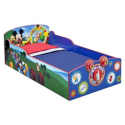 Disney Interactive Wood Toddler Bed Mickey - Delta Children