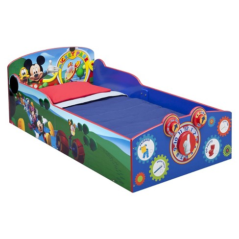 Disney Interactive Wood Toddler Bed Mickey - Delta Children - image 1 of 4
