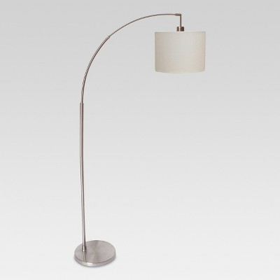 Arc Floor Lamp Silver (Lamp Only)- Project 62™