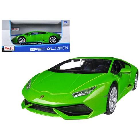 Lamborghini Huracan Lp610 4 Green 1 24 Diecast Model Car By Maisto