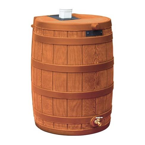 Good Ideas RW50-TC Rain Wizard Water Storage Rain Collection Rain Barrel 50-Gallon, Terra Cotta - image 1 of 4