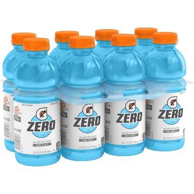 Gatorade G Zero Cool Blue Sports Drink - 8pk/20 fl oz Bottles