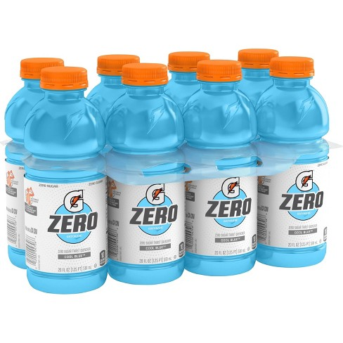 Gatorade G Zero Cool Blue Sports Drink - 8pk/20 fl oz Bottles - image 1 of 3