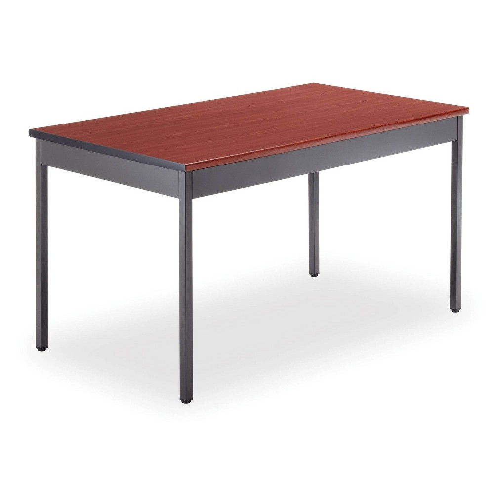 "Image of ""30"""" X 48"""" Multi-Purpose Utility Table Cherry - OFM, Red"""