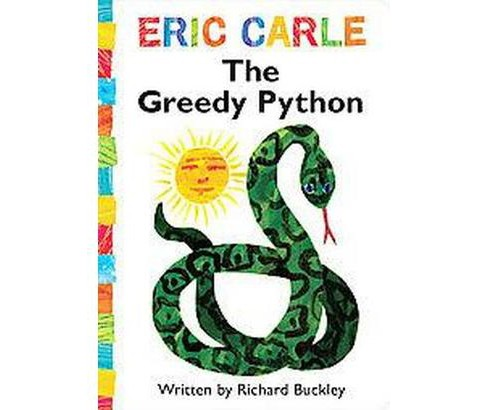 Greedy Python (Hardcover) (Richard  Buckley) - image 1 of 1