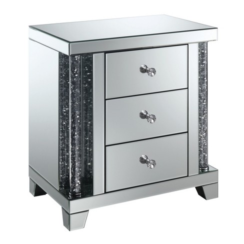 Carter Side Table Silver - ioHOMES - image 1 of 4