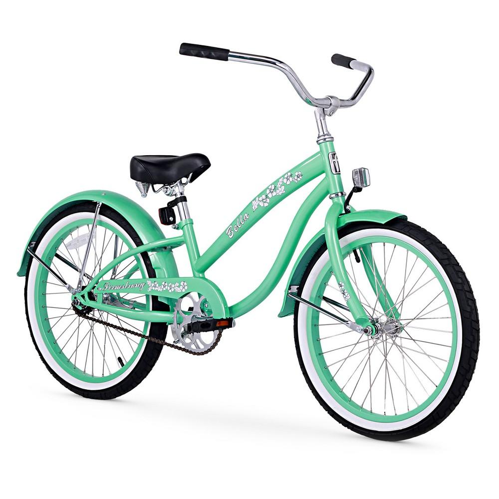 Firmstrong Bell Sports Classic 20 Kids' Cruiser Bike - Mint Green