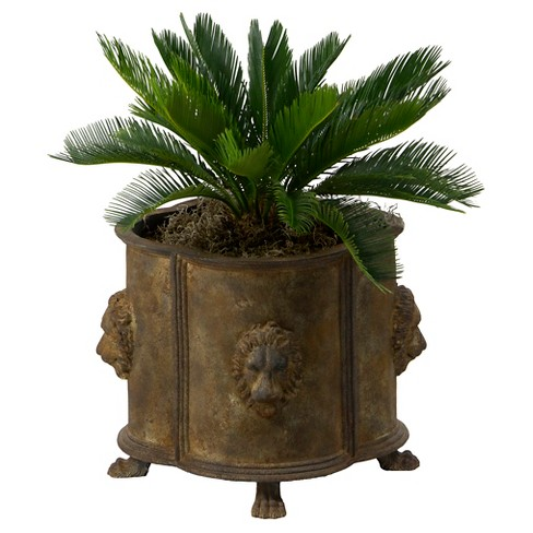 Outdoors Luxembourg Planter - Antique Brass - Bombay Outdoors - image 1 of 4