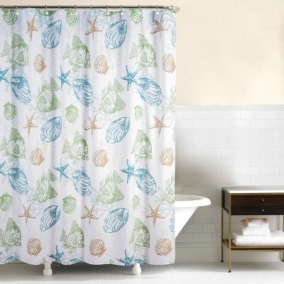 C&F Home Reef Point Shower Curtain
