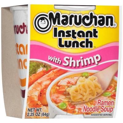Maruchan Instant Lunch Shrimp Ramen Noodle Soup - 3oz