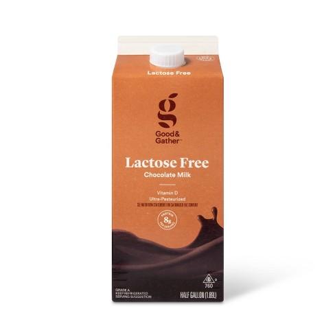 Lactose Free Vitamin D Chocolate Milk - 0.5gal - Good & Gather™ - image 1 of 2