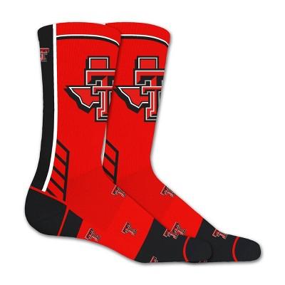 NCAA Texas Tech Red Raiders Tailgate Crew Socks 10-13