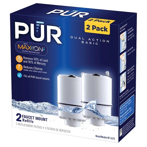 pur dual action basic replacement filter 2pk : target