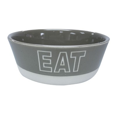 EAT Stoneware 4 Cup Bowl for Cats - Boots & Barkley™
