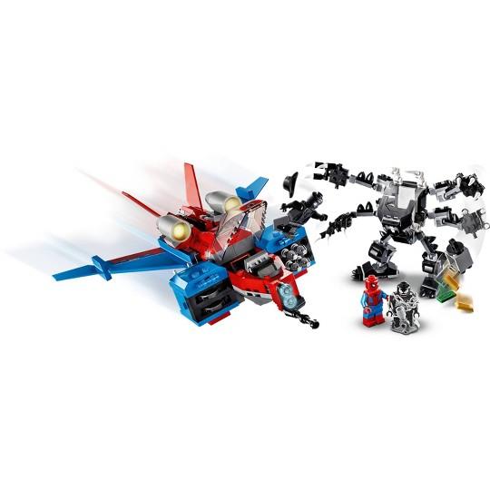 LEGO Marvel Spider-Man Spider-Jet vs Venom Mech 76150 LEGO Superhero Set image number null