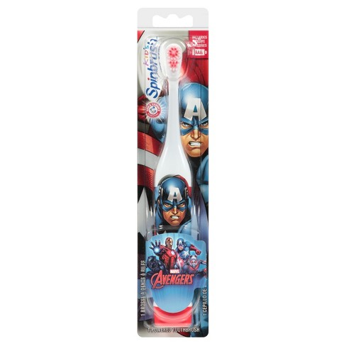 Spinbrush Avengers Various Powered Toothbrush - 1ct - image 1 of 2