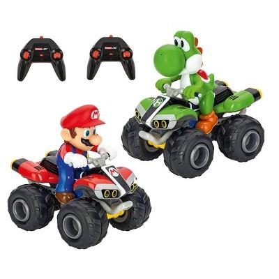 Carrera RC Mario Kart Quad Twin Pack - Mario and Yoshi