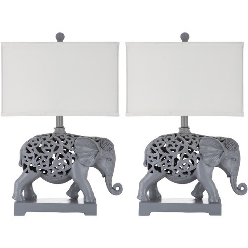 Hathi Sculpture Table Lamp (Set of 2) - Safavieh® - image 1 of 5